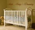 Shhh Baby's Dreaming ~ Wall sticker / decals